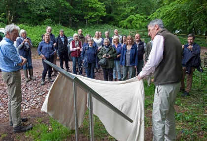 Unveiling of the Information Board, Hembury, Devon © Chris Chapman 2018
